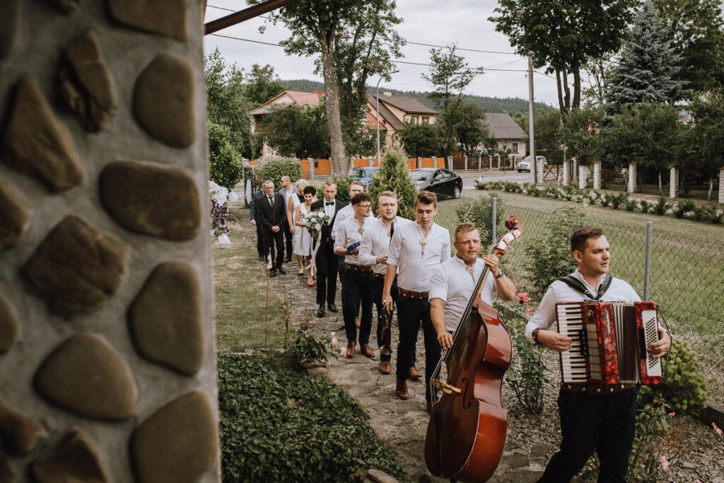 Wesele w stylu glamour - Justyna & Marcin - fotograf Nowy Sącz Adam Podwika