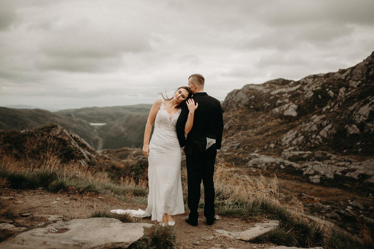 Plener ślubny Adam Podwika Weddings - Norwegia - Urliken, Bergen, Floyen, fotograf ślubny Nowy Sącz