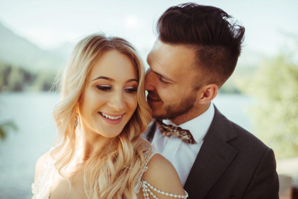 Karina & Dawid - plener ślubny - Szczyrbskie Jezioro Pleso - Adam Podwika Fotograf Ślubny Nowy Sącz